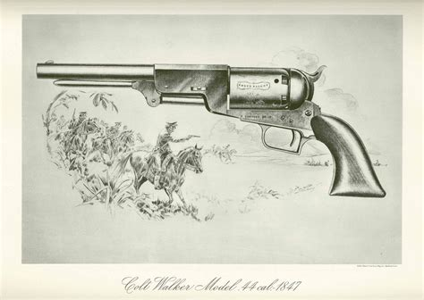 Colt's Historical Prints - Colt Walker Model .44 cal. - 18 ...