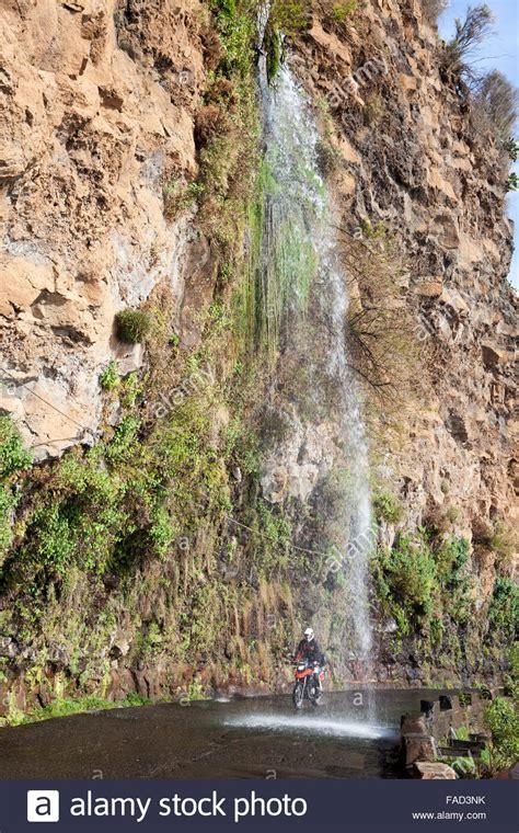 Waterfall Madeira Island Portugal Stock Photos And Waterfall