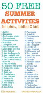 50 Free Summer Activities for Kids | Mommy Tips | Summer ...