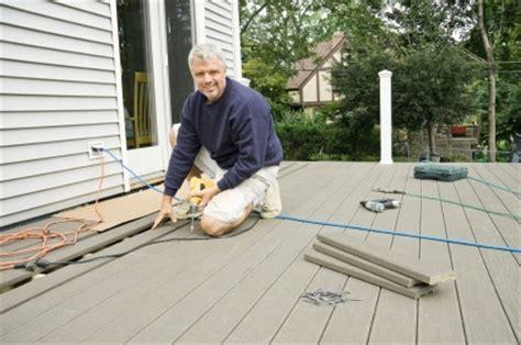 installing trex decking decking installation diy or professional installer