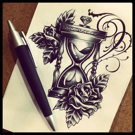 art  tattoo hourglass