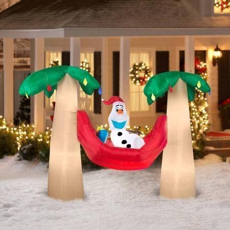 frozen christmas inflatables lawn decorations