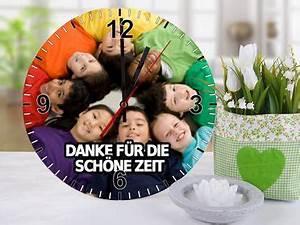 Fotouhr Abschiedsgeschenk Kindergarten Geschenke Zum