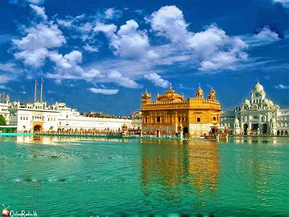 Temple Golden Amritsar Sikh India Wallpapers Places