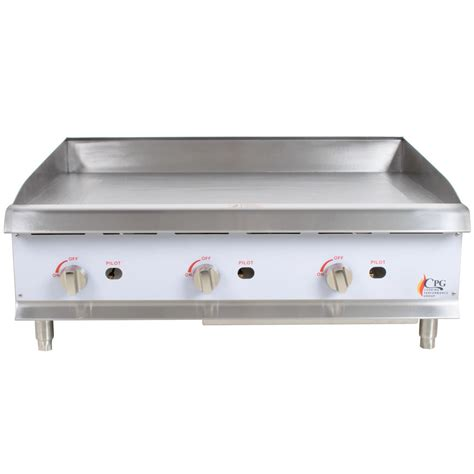 Countertop Griddle Gas by Cooking Performance G36 36 Quot Gas Countertop Griddle