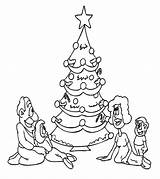 Coloring Tree Printable Sheet Holiday Drawing Momjunction Drive2vote sketch template