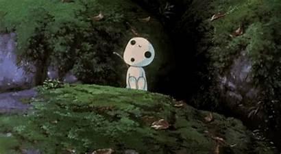 Spirited Away Gifs Ghibli Forest Tenor