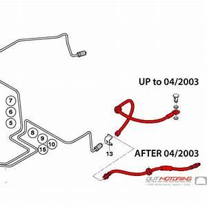 34306793611 34306760221 Mini Cooper Brake Line Hose  R50