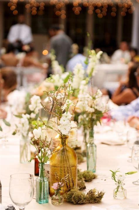Bohemian Hawaiian Wedding Table Seating And Flower Bouquets