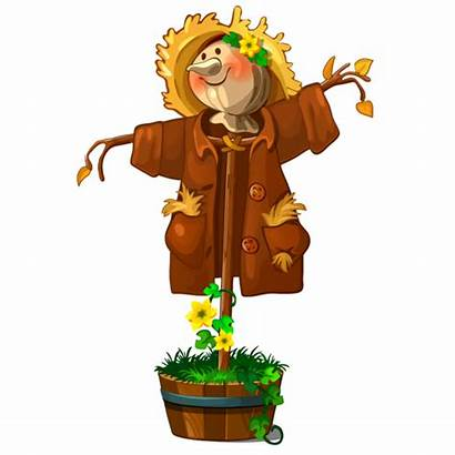 Thanksgiving Cartoon Scarecrow Pumpkin Saint Patrick Patricks