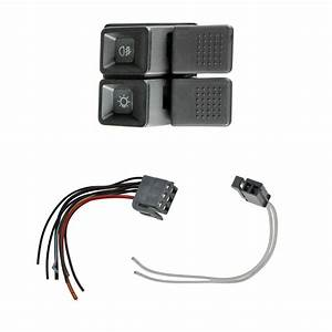 Headlight Headlamp Switch W   Plugs Wiring For Ford Mustang Gt W   Foglights