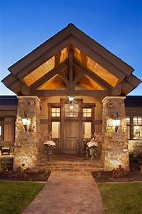 Modern Ranch - Rustic - Entry - minneapolis - by Kyle Hunt