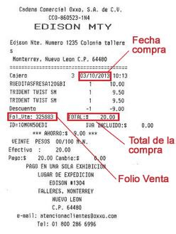 elementos-del-ticket-facturacion-oxxo - Opcionis Blog Mexico