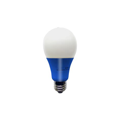 illumin8 i8a deco blue a19 led light bulb non dimmable 4