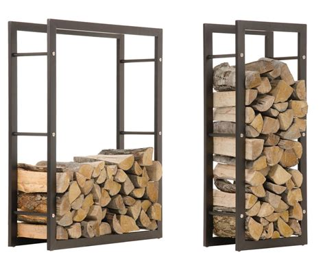 metal wood rack firewood rack keri black log shelf basket stand holder metal wood fire storage ebay