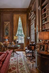 Atlanta Homes - Swan House, Mr Inman's study and library