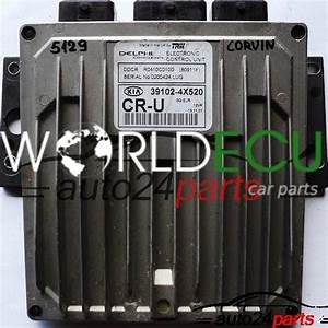Ecu Engine Controller Kia Carnival 2 9 Crdi Delphi Ddcr