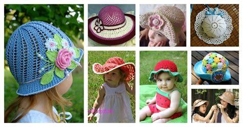 crochet hat  patterns  kids