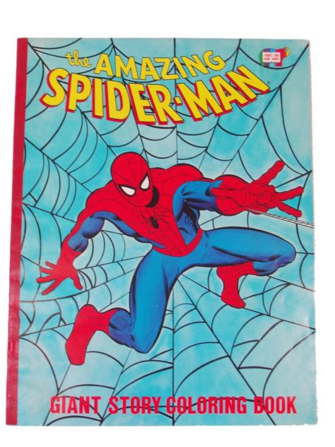 coloring books vintage  amazing spider man