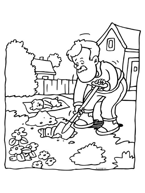 Kleurplaat Hooi by Coloring Page Coloring Page Funeral Picgifs