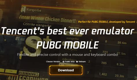 Try the latest version of gameloop 2020 for windows Download Tencent Gaming Buddy PUBG Mobile emulator for PC