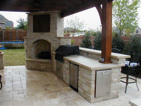 kitchen fireplace ideas outdoor fireplace kitchen designs jen joes design