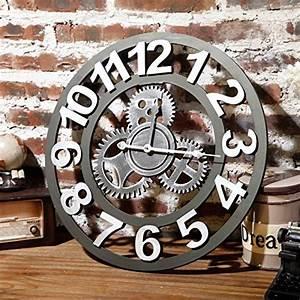 Horloge Murale Industrielle : horloge de cuisine 20 jolis mod les pour une d coration unique ~ Teatrodelosmanantiales.com Idées de Décoration