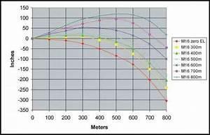 Ammunition Comparison Chart Figure Meter Boresight Target And Meter Zero Offset