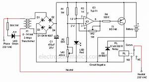 Tricky 12v Battery Charger Circuit