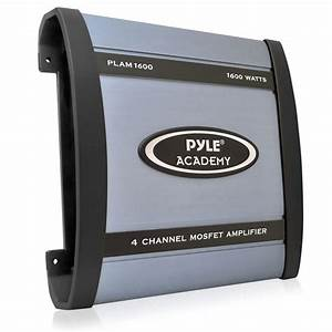 Pyle - Plam1600 - Marine And Waterproof - Vehicle Amplifiers - On The Road