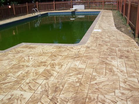 resurface aggregate pool deck annapolis pool deck resurface maryland curbscape