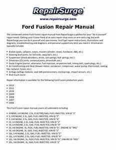 Ord Fusion Repair Manual 2006