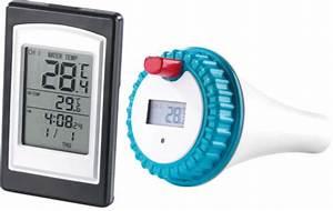 Thermometre De Piscine : thermom tre sans fil pour maison et temp rature piscine ~ Carolinahurricanesstore.com Idées de Décoration