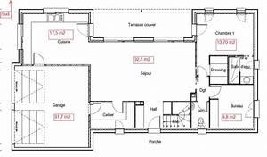 avis plan maison 130 m2 etage partiel region toulouse With superior plan maison r 1 100m2 2 plan maison r 1 160 m2