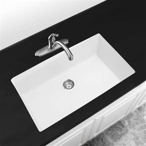 white glass kitchen sink why to invest in a white undermount kitchen sink blogbeen 1310