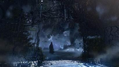Secret Concept Gothic Scenery Artwork Anime Park