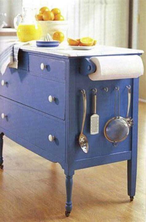 diy kitchen island cart 32 simple rustic kitchen islands