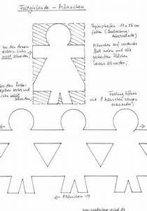 Girlande Basteln Vorlage : faltgirlande m nnchen papier basteln meine enkel und ich ~ Watch28wear.com Haus und Dekorationen