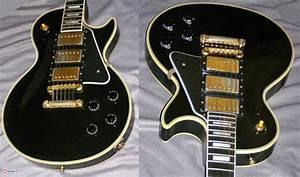 2002 Gibson Custom Historic Les Paul Custom  U0026 39 57 Black
