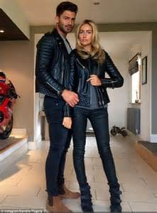 jake quickenden  danielle fogarty  matching leather jackets  manchester daily mail