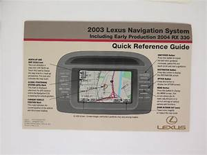 Purchase 2003 Lexus Gx 470 Owners Manual Guide Book