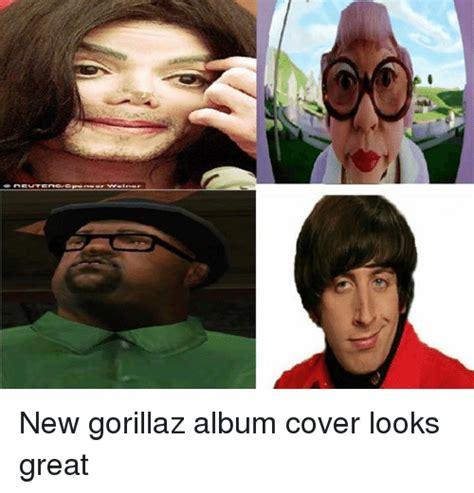 Album Cover Meme - new gorillaz album cover looks great gorillaz meme on sizzle