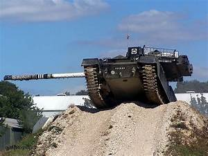 Military Vehicle Photos - Chieftain Tank in action