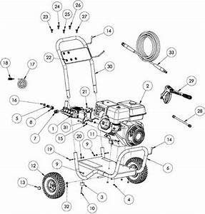 Generace Pressure Washer Model 5995 5996 Replacement Parts