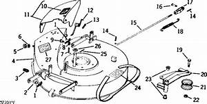 John Deere 68 Riding Mower Belt Diagram