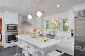 20 White Quartz Countertops - Inspire Your Kitchen Renovation