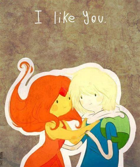 Finn And Flame Princess Adventure Time Adventure Time
