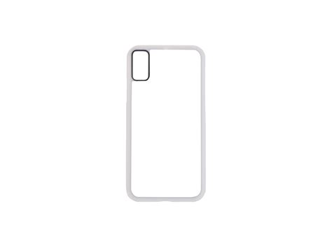 iPhone X Cover (Rubber, White) - BestSub - Sublimation