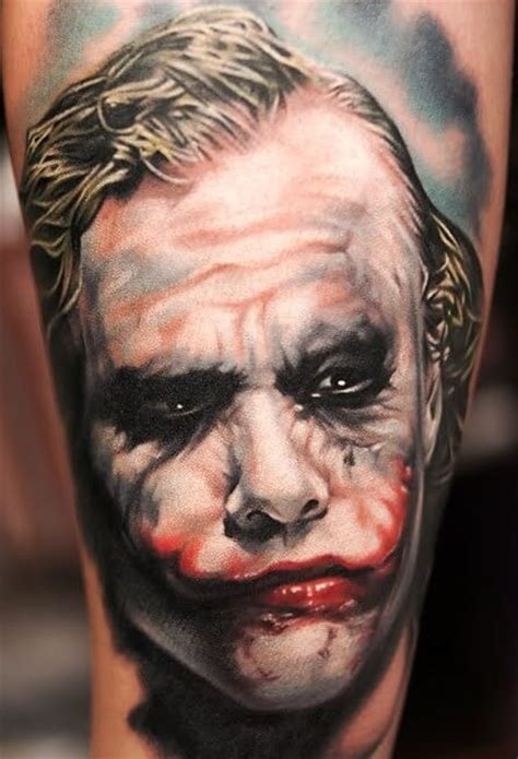 top   joker tattoos