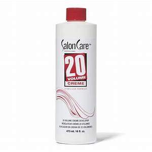 Salon Care 20 Volume Creme Developer  Volume